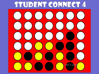 Student Connect 4 (Template)