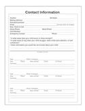 Student Contact Information - Parent Contact Log