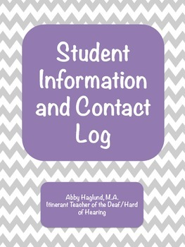 Student Contact Log