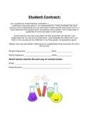 Student Contract- Beginning of the year