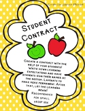 Student Contract: Create Your Own!