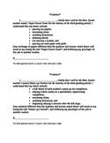 Student Contract for Classroom Job Duties