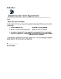 Student Contract for Use of Electronics