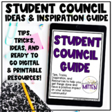 Student Council Guide - Ideas, Activities, & Printable/Dig
