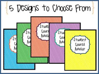 Student Council Advisor--FREE Binder Printable