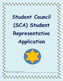 Student Council Application Packet