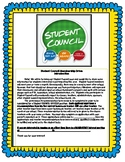 Student Council Beginning of the Year Setup Pack