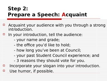 STUDENT COUNCIL Campaigning Tips PowerPoint PPT