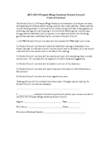 Student Council Code of Conduct