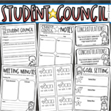Student Council Leadership Government Class Elections Start Up Forms EDITABLE