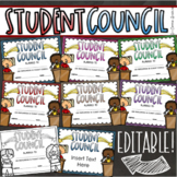Student Council Leadership Government End of the Year Awards Editable