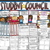 Student Council Leadership Government Forms Awards Binder Covers EDITABLE BUNDLE
