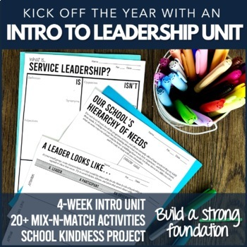 Leadership ASB Student Council Course Mega Bundle (Growing!)