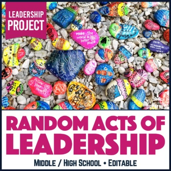 Leadership ASB Student Council Random Act of Service Challenge Game