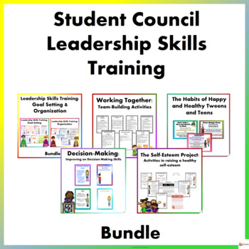 Student Council Leadership Activities & Worksheets | TpT