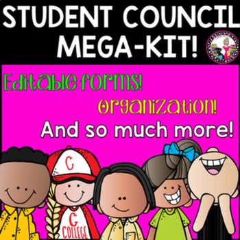 Student Council Mega Kit!  Elementary!