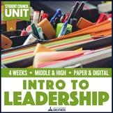 Leadership ASB Student Council Ice Breaker Goal Setting PBL Unit