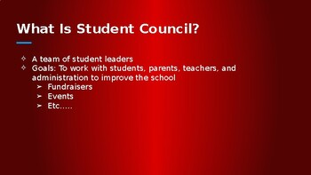 Student Council Powerpoint