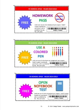 Student Coupon Booklet  2017-2018