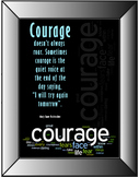 Student Courage Poster
