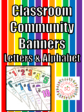 Student Created Banners - Letters & Numbers