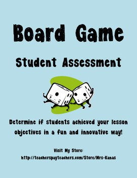 Student Created Board Game for Social Studies Common Core Alternative Assessment