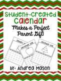 Student Created Calendar {Parent Christmas Gift}
