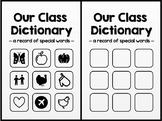 Class Dictionary