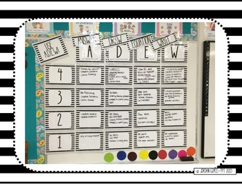 Student Created Math Writing Rubric (Wall/Bulletin Board)