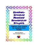 Student-Created Monthly Newsletter Project