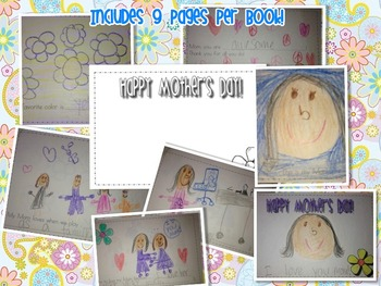 Student Created Mother's & Father's Day Books