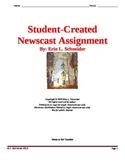 Student-Created Newscast Assignment (editable)