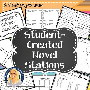 Student-Created Novel Stations