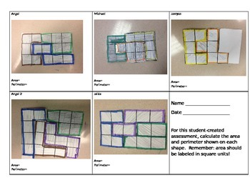 Student Created Perimeter and Area Problems