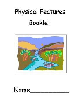 Student Created- Physical Features Booklet
