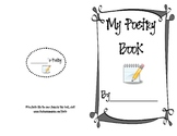 Student Created Poetry Book