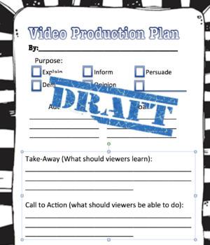 Student Created Video Organizer