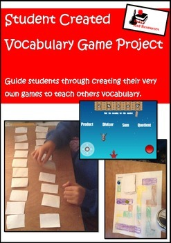 Student Created Vocabulary Game Project
