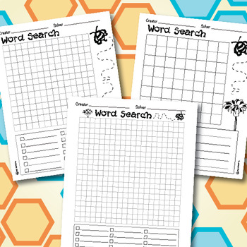 Word Search Templates