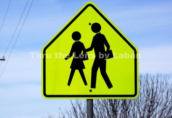 Student Crossing Sign Stock Photo #47