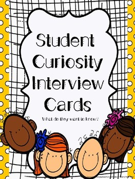 Student Curiosity Interview for Curriculum Planning