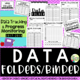 DATA Folders/Binder [Progess Monitoring; IEP Goal Tracking] [EDITABLE]