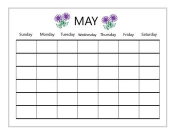 Student Daily Calendar