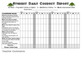 Student Daily Conduct Record