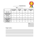 Student Daily Effort Rubric