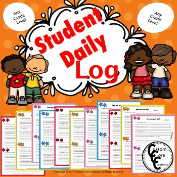 Student Daily Log (color version)