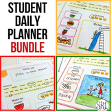 Student Daily Planner Bundle