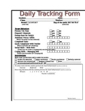 Student Daily Tracking - Secondary