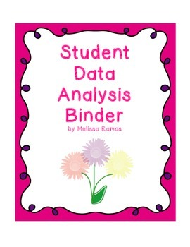 Student Data Binder Cover and Sheets