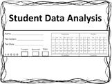 Student Data Analysis Form (TEKS)